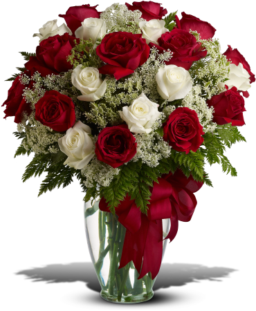 Love\'s Divine Bouquet - Long Stemmed Roses